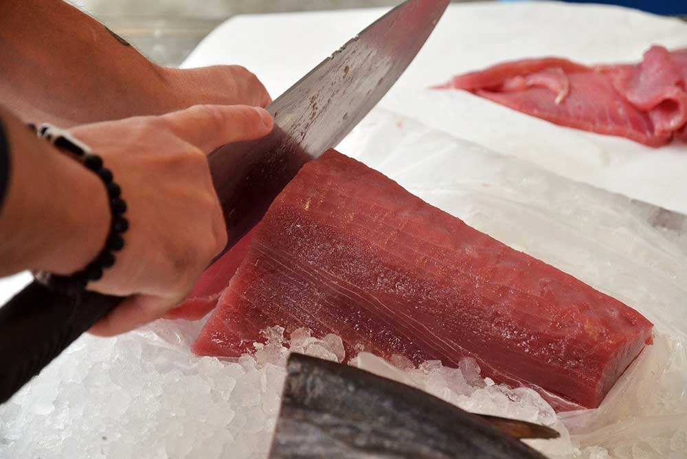 Preparazione del Pesce a Catania